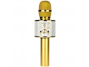 Bezdrátový mikrofon - Hoco, BK3 KARAOKE Gold