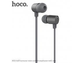 Sluchátka pro iPhone a iPad - HOCO, M33 FullHarmony Gray
