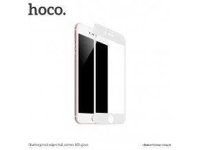 Ochranné tvrzené sklo pro iPhone 7 PLUS / 8 PLUS - HOCO, A1 Shatterproof 3D White