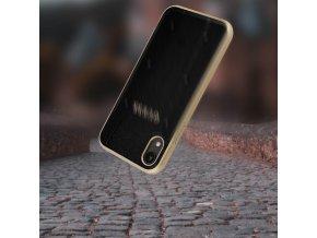 Ochranný kryt pro iPhone XR - Guess, Kaia Back Black