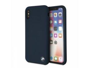 Ochranný kryt pro iPhone XS / X - BMW, Silicone Navy