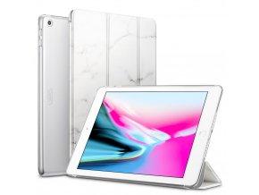 Pouzdro / kryt pro iPad 2017 / 2018 - ESR, YIPPEE MARBLE WHITE