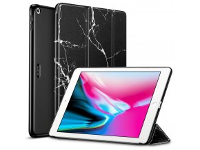 Pouzdro / kryt pro iPad 2017 / 2018 - ESR, YIPPEE MARBLE BLACK