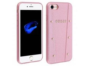 Ochranný kryt pro iPhone 7 / 8 - Guess, Kaia Back RoseGold