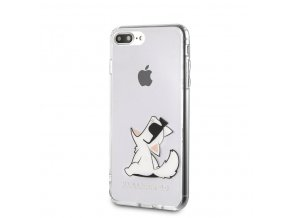 Ochranný kryt pro iPhone 7 PLUS / 8 PLUS - Karl Lagerfeld, Fun Choupette NoRope