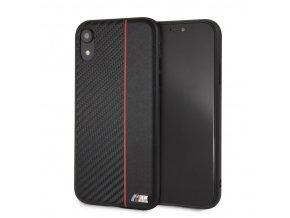 Ochranný kryt pro iPhone XR - BMW, Carbon Back Red