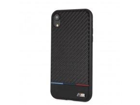 Ochranný kryt pro iPhone XR - BMW, Carbon Back Smooth