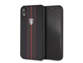 Ochranný kryt pro iPhone XR - Ferrari, OffTrack Back Black