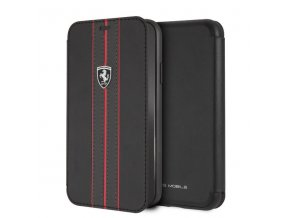 Ochranný kryt / pouzdro pro iPhone XR - Ferrari, OffTrack Book Black