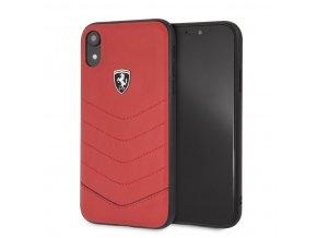 Ochranný kryt pro iPhone XR - Ferrari, Heritage Back Red