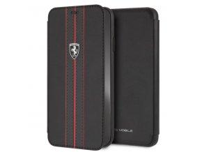 Ochranný kryt / pouzdro pro iPhone XS MAX - Ferrari, OffTrack Book Black