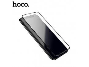 Ochranné tvrzené sklo pro iPhone XS MAX - Hoco, A1 Shatterproof 3D Black