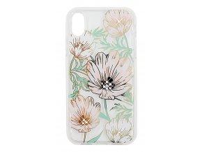 Ochranný kryt pro iPhone XS / X - Comma, Flowery White