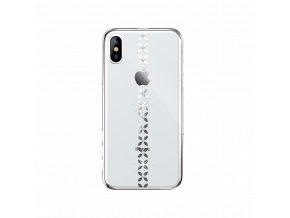 Ochranný kryt pro iPhone XR - Devia, LuckyStar Silver