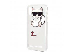 Ochranný kryt pro iPhone XS / X - Karl Lagerfeld, Fun EatenAppe NoRope