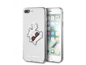 Ochranný kryt pro iPhone 7 PLUS / 8 PLUS - Karl Lagerfeld, Fun EatenAppe Black