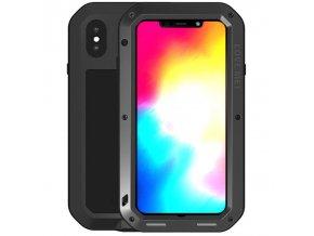 Ochranný kryt pro iPhone XS MAX - LOVE MEI, POWERFUL BLACK