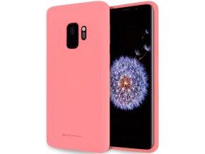 Pouzdro / kryt pro Samsung Galaxy S9 - Mercury, Soft Feeling Pink