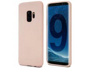Pouzdro / kryt pro Samsung Galaxy S9 - Mercury, Soft Feeling Pink Sand