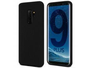 Pouzdro / kryt pro Samsung Galaxy S9 PLUS - Mercury, Soft Feeling Black