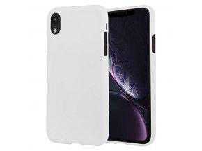 Ochranný kryt pro iPhone XR - Mercury, Soft Feeling White