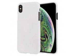Ochranný kryt pro iPhone XS MAX - Mercury, Soft Feeling White