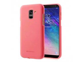 Pouzdro / kryt pro Samsung GALAXY A6 (2018) A600F - Mercury, Soft Feeling Pink