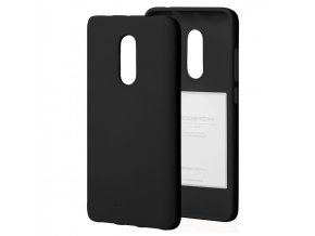 Ochranný kryt pro Xiaomi Redmi 5 PLUS - Mercury, Soft Feeling Black