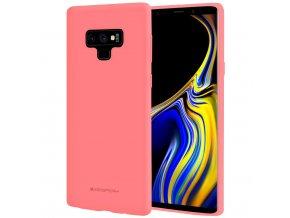 Pouzdro / kryt pro Samsung Galaxy NOTE 9 - Mercury, Soft Feeling Pink