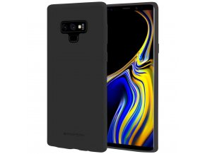 Pouzdro / kryt pro Samsung Galaxy NOTE 9 - Mercury, Soft Feeling Black