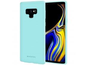 Pouzdro / kryt pro Samsung Galaxy NOTE 9 - Mercury, Soft Feeling Mint