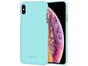 Ochranný kryt pro iPhone XS MAX - Mercury, Soft Feeling Mint