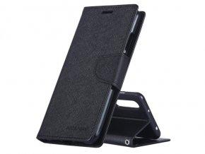 Pouzdro / kryt pro Huawei P20 PRO - Mercury, Fancy Diary Black/Black