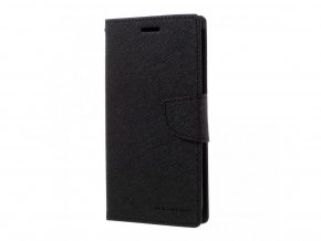 Pouzdro / kryt pro Samsung GALAXY J6 (2018) J600F - Mercury, Fancy Diary Black/Black