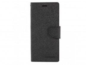 Pouzdro / kryt pro Samsung GALAXY A8 (2018) A530F - Mercury, Fancy Diary Black/Black