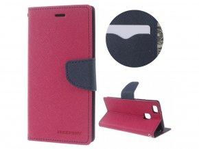 Ochranný kryt pro Xiaomi Redmi 6 - Mercury, Fancy Diary HotPink/Navy