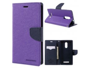 Ochranný kryt pro Xiaomi Redmi 6 - Mercury, Fancy Diary Purple/Navy