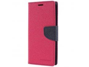 Pouzdro / kryt pro Samsung Galaxy S9 - Mercury, Fancy Diary HotPink/Navy