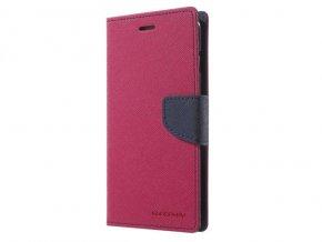 Pouzdro / kryt pro Samsung GALAXY A8 PLUS (2018) A730 - Mercury, Fancy Diary HotPink/Navy