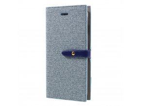 Pouzdro / kryt pro iPhone 7 Plus / 8 Plus - Mercury, Milano Diary Blue/Blue