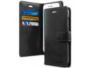 Pouzdro / kryt pro iPhone 7 Plus / 8 Plus - Mercury, Bluemoon Diary Black