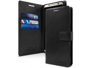 Pouzdro / kryt pro Samsung Galaxy S8 - Mercury, Bluemoon Diary Black