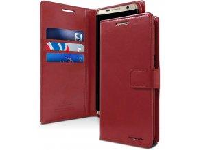 Pouzdro / kryt pro Samsung Galaxy S9 - Mercury, Bluemoon Diary Wine