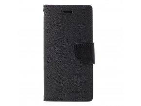 Pouzdro / kryt pro Samsung GALAXY J6 PLUS (2018) J610F - Mercury, Fancy Diary Black/Black