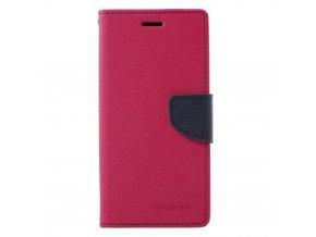 Pouzdro / kryt pro Samsung GALAXY J6 PLUS (2018) J610F - Mercury, Fancy Diary HotPink/Navy