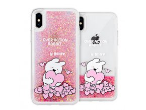Ochranný kryt pro iPhone 7 PLUS / 8 PLUS - Mercury, Rabbit Glitter LoveYou