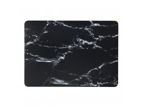 Polykarbonátové pouzdro / kryt na MacBook Air 13 (2018) - Marble Black