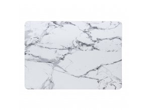 Polykarbonátové pouzdro / kryt na MacBook Air 13 (2018-2019) - Marble White