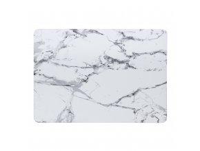 Polykarbonátové pouzdro / kryt na MacBook Air 13 (2018) - Marble White