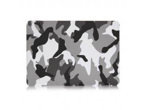Polykarbonátové pouzdro / kryt na MacBook Air 13 (2018) - Camouflage Gray